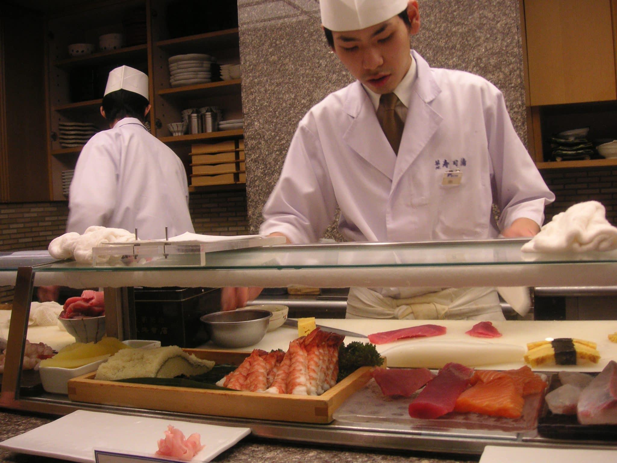 japanese restaurant, japanese sushi bar