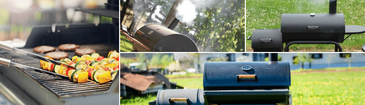 best bbq smokers, grill smoker combo, combination grill