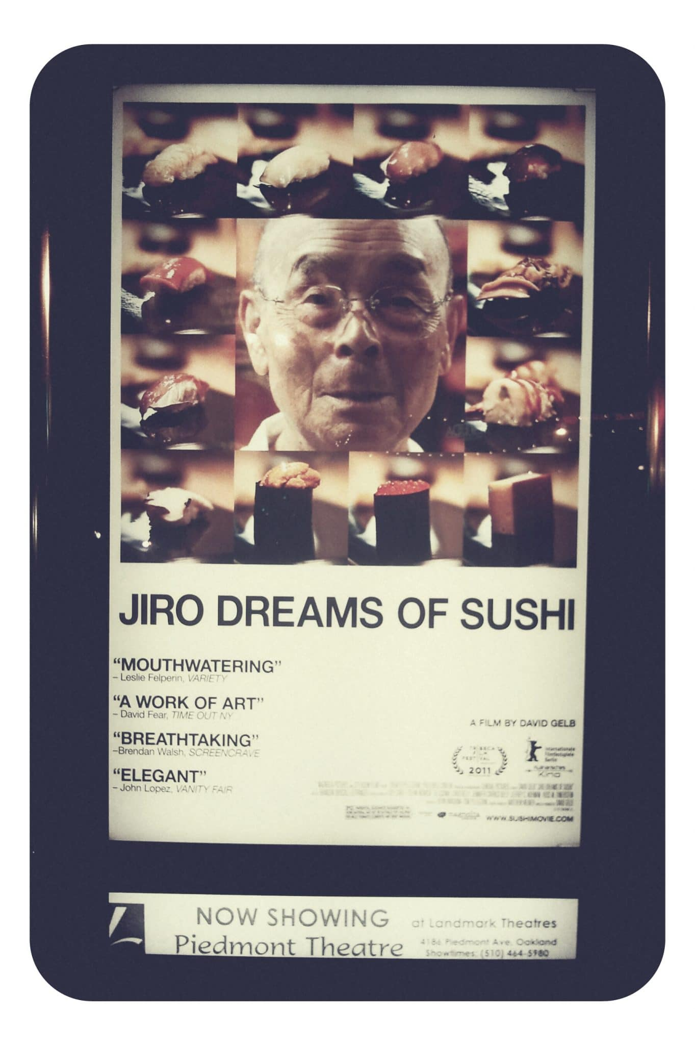 food in cinema, movie about sushi