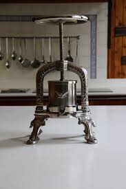 cooking press, cast iron cooking press