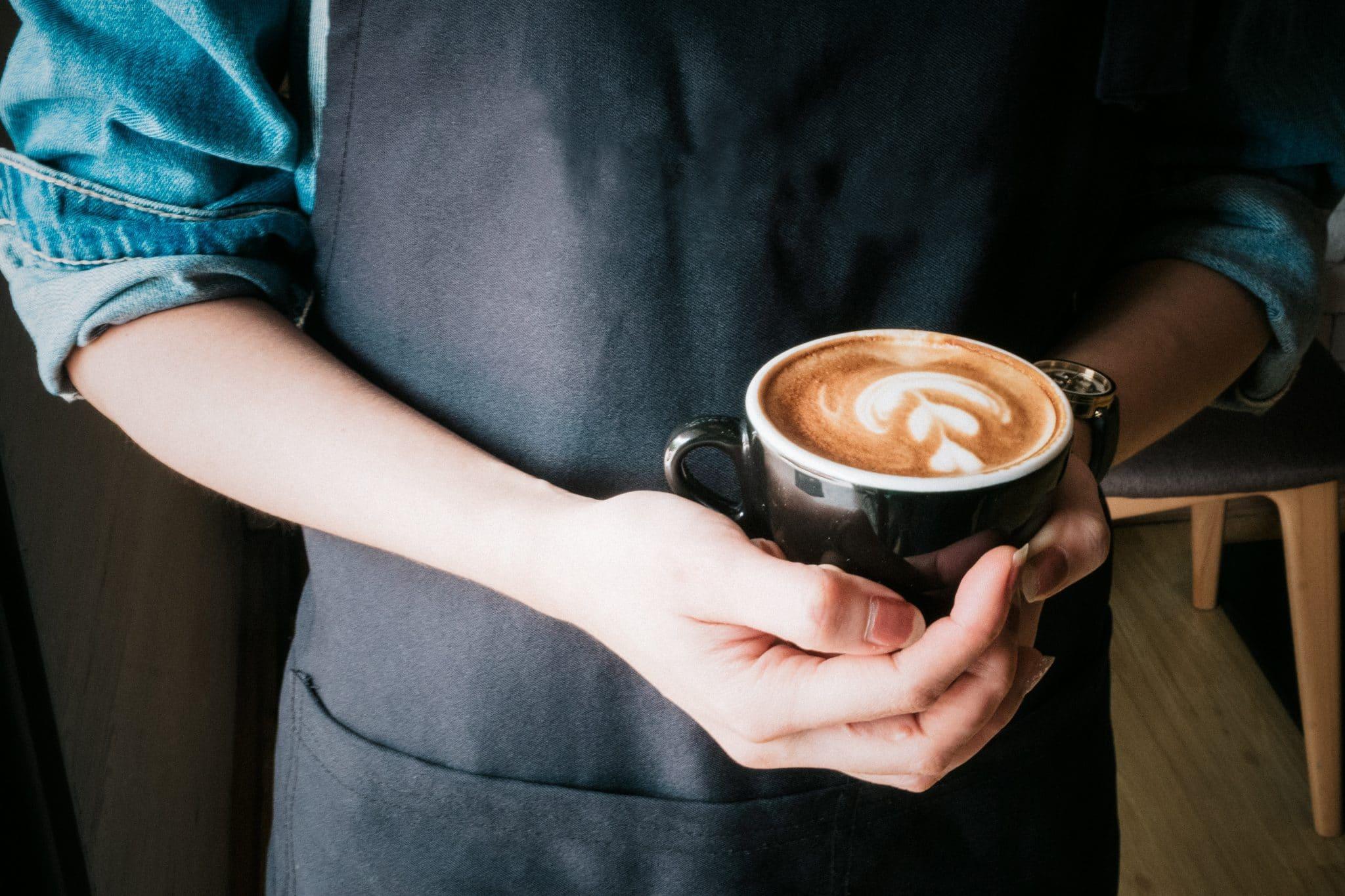 coffee art, barista coffee