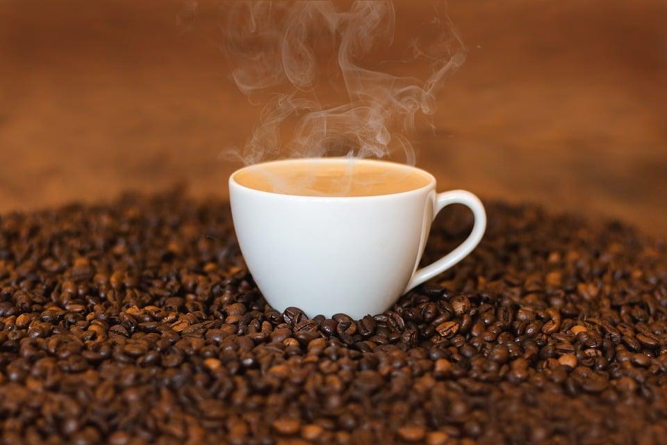 coffee beans, custom coffee mug