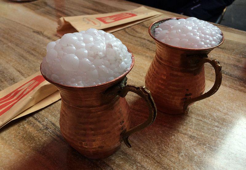 horse milk drink, mongolian dessert