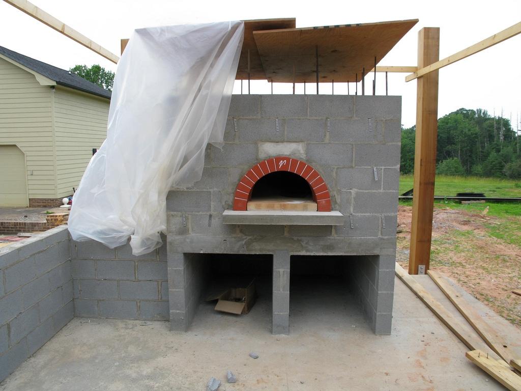 wood fired furnace, backyard furnace