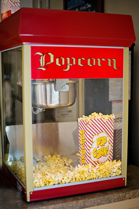 snack for movies, corn snack