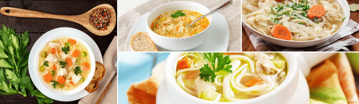 how to make chicken noodle soup, recipes for chicken noodle soup, homemade chicken noodle soup