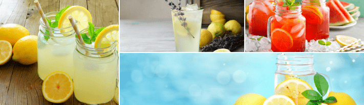 how to make lemonade, lemonade recipe, lemonade ideas