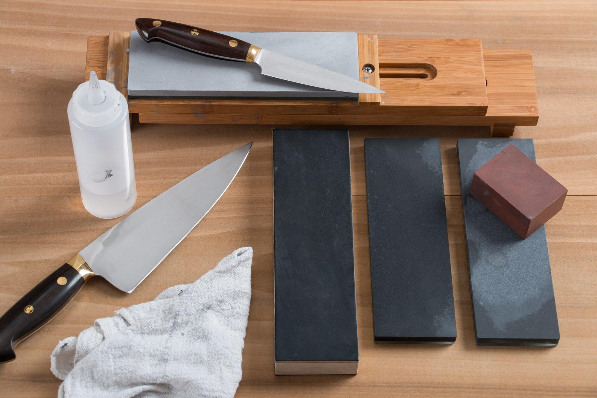 sharpening stone, how use sharpening stone