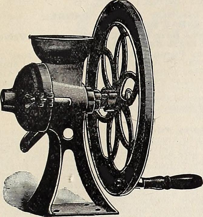 vintage hand grinder, vintage grinder