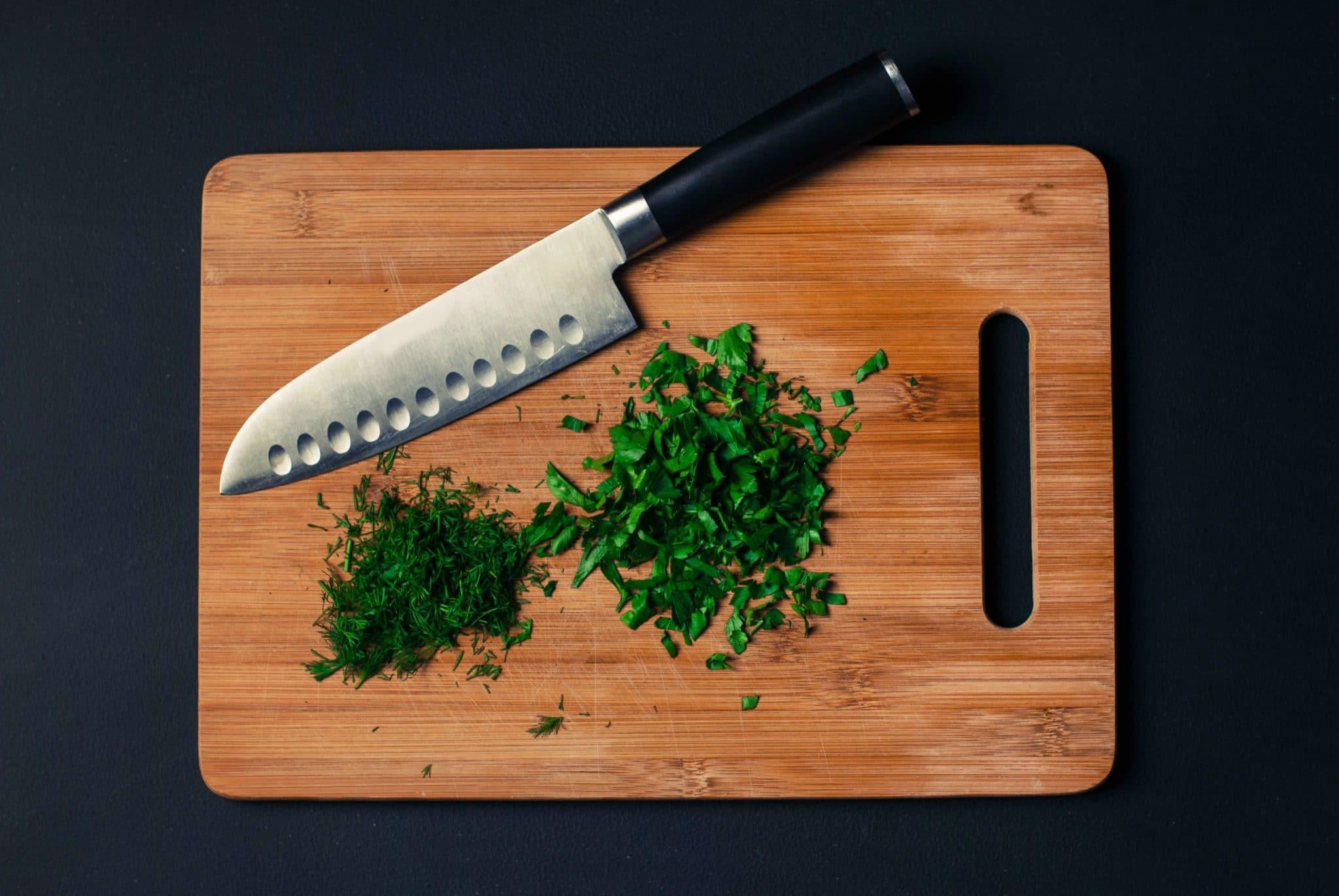chopping block for kitchen, bamboo chopping block