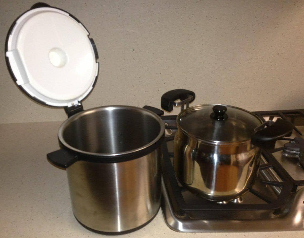 canning food, preserving food