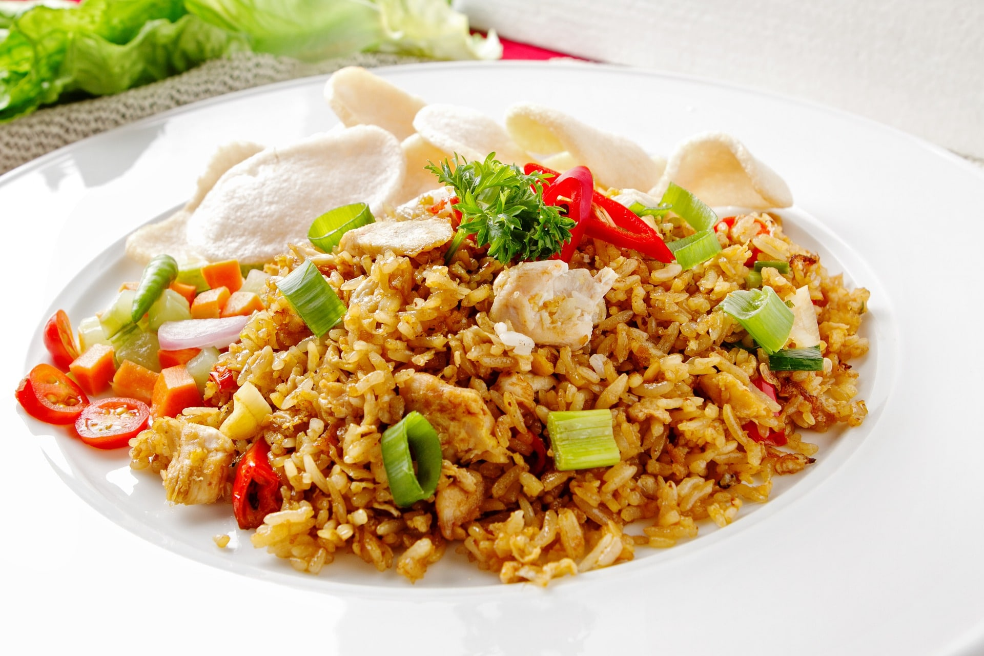 How to make chicken fried rice chicken thigh meat is what restaurants use to make fried rice the reason isnt just that thigh meat is cheaper it also has more flavor that breast ccuart Choice Image
