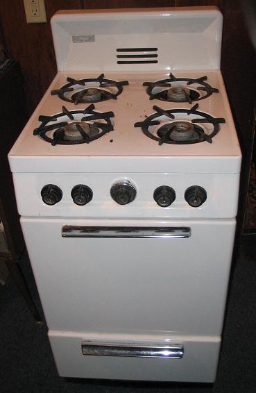 kitchen range, stainless steel range