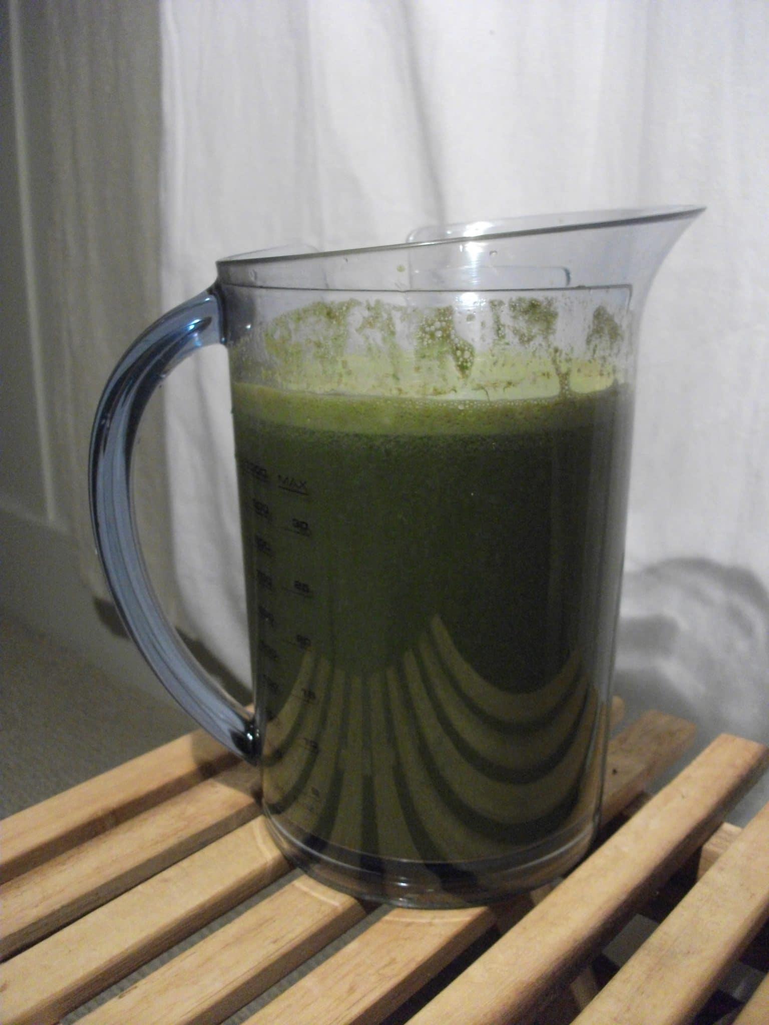 plastic blender jar, blended juice