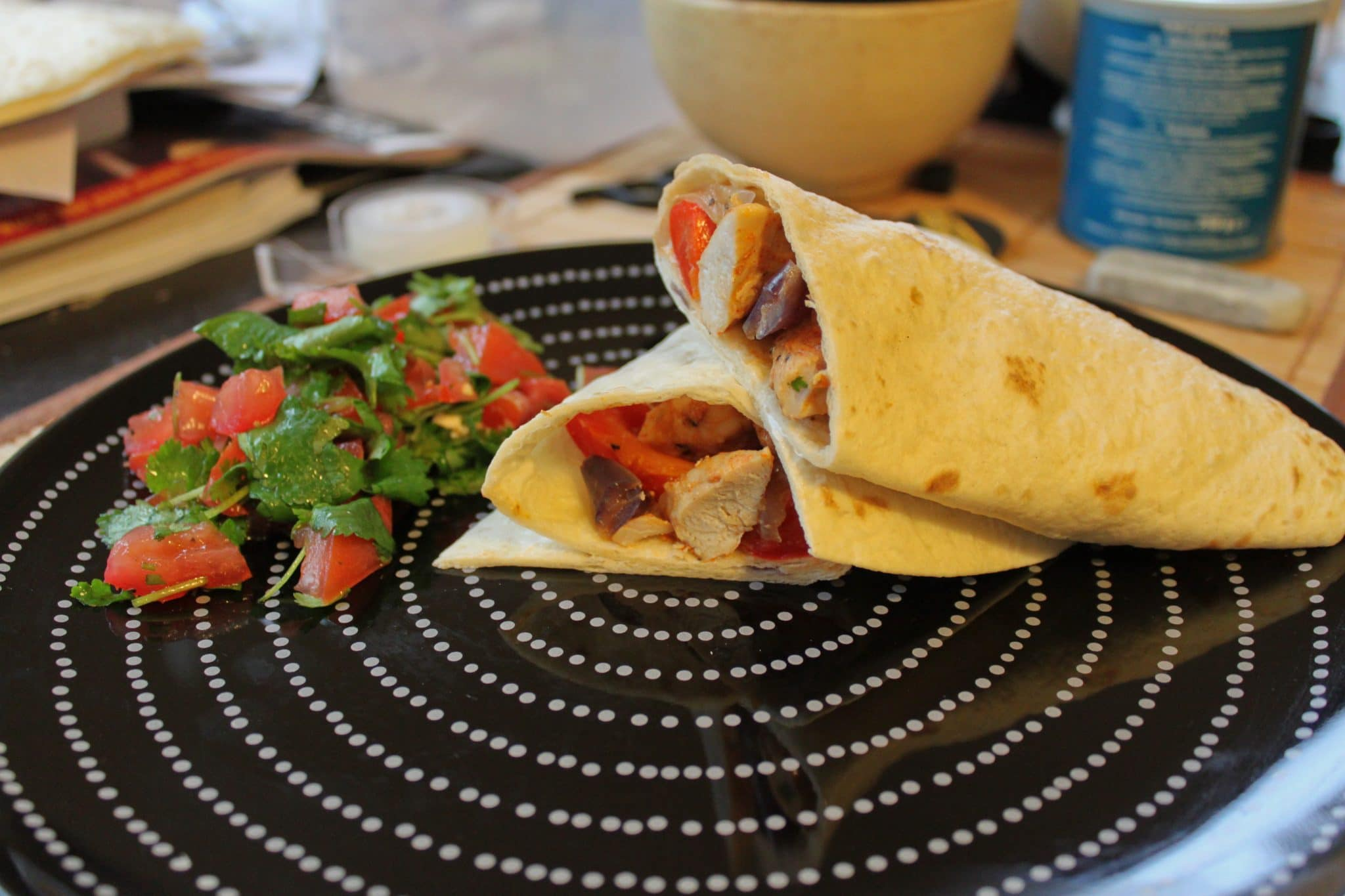 breakfast burrito, burrito homemade