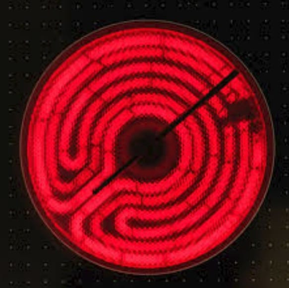 electric coil, electric coil cooktop