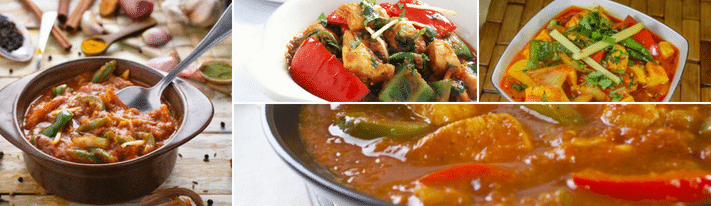 capsicum gravy recipe, capsicum curry, vegetarian gravy