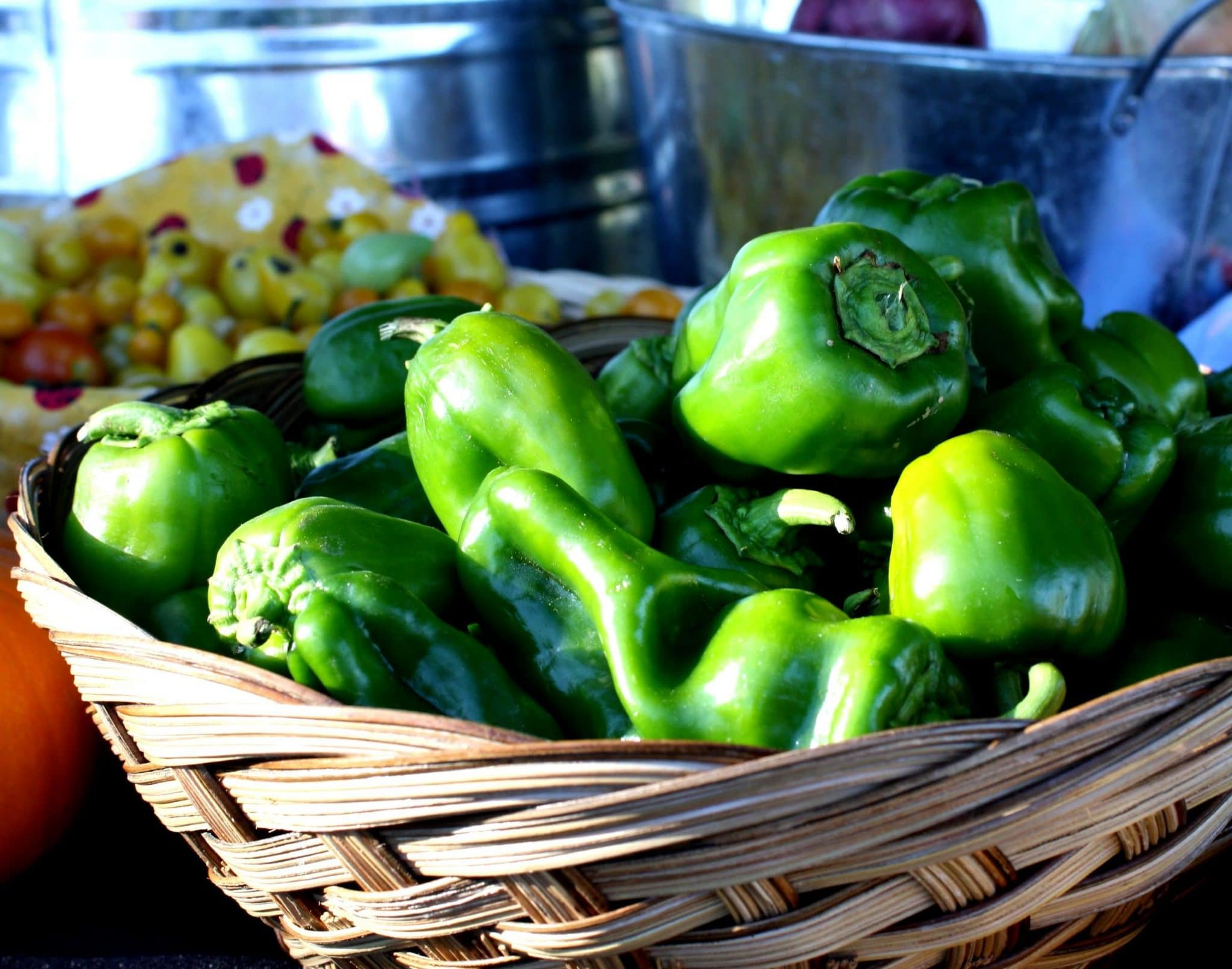 green bell peppers, bell pepper dish