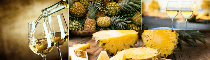 pineapple wine recipe, how to make pineapple wine, homemade pineapple wine