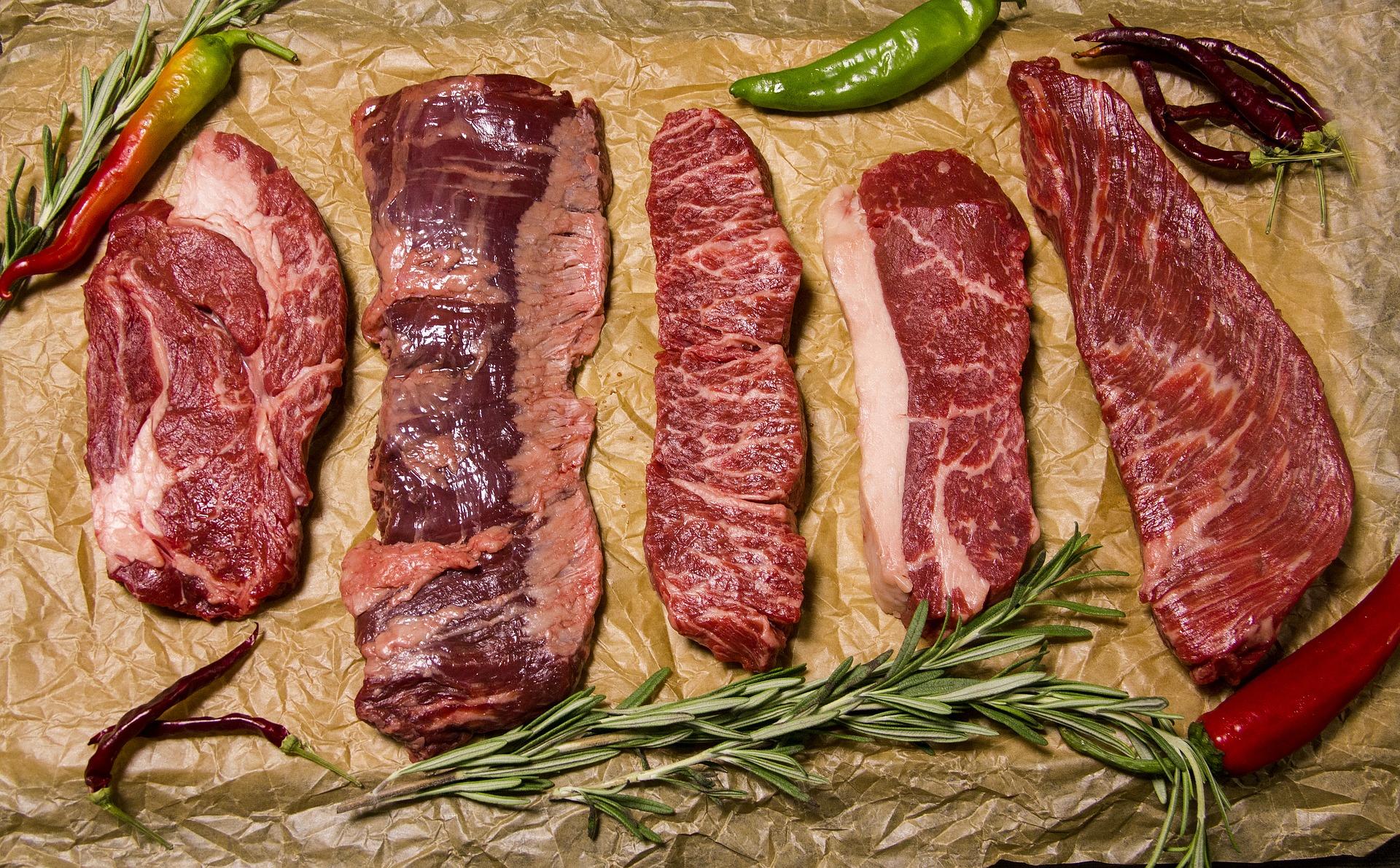 steak types, steak dinner