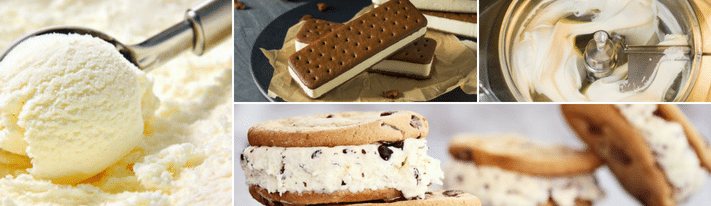 ice cream sandwich wafers, vanilla ice-cream sandwiches, gelato sandwich