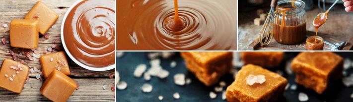 making caramel, sugar free caramel recipe, healthy caramel