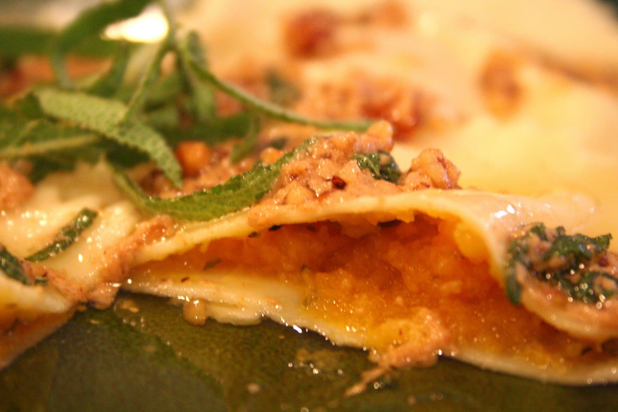 Butternut squash ravioli with maple cream sauce enjoy for What to serve with butternut squash ravioli