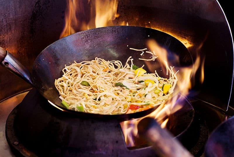 flat bottom wok, flat bottom pan