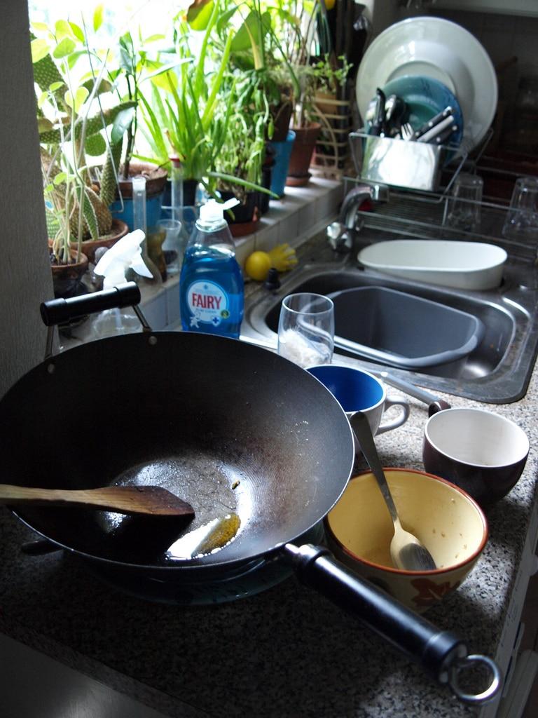 frying pan seasoning, skillet seasoning