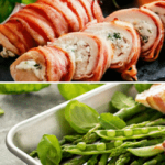 Parma Ham Wrapped Mozzarella Chicken Recipe - How To Make Chicken Stuffed With Mozzarella Wrapped in Parma Ham