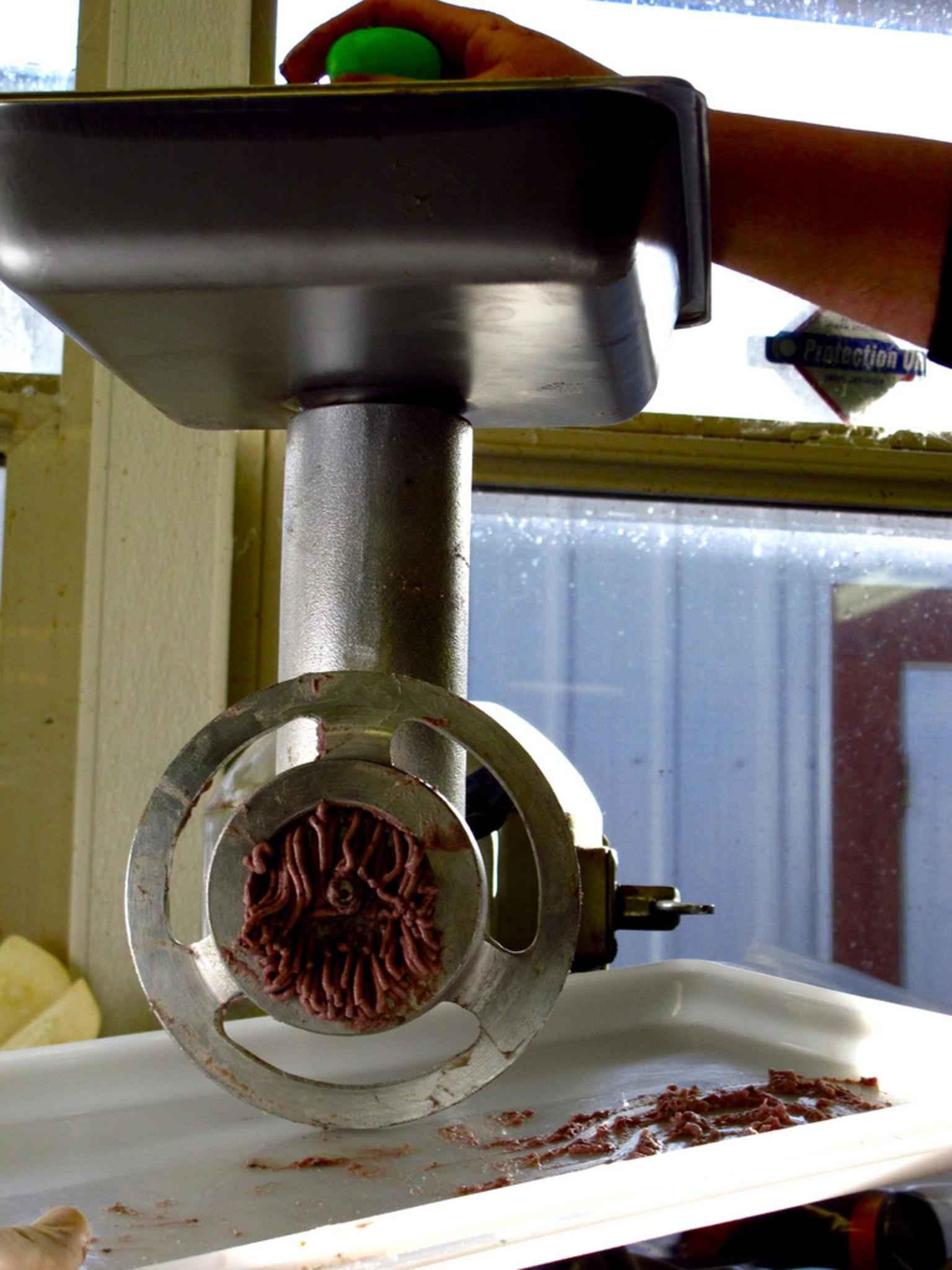 meat grinding machine, weston appliance