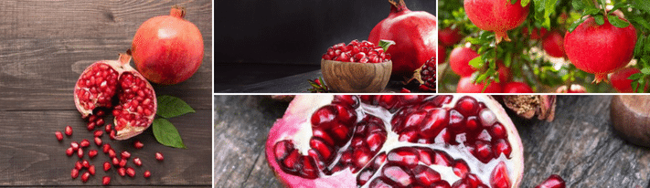 how to choose pomegranates, how to eat pomegranates, when are pomegranates in season