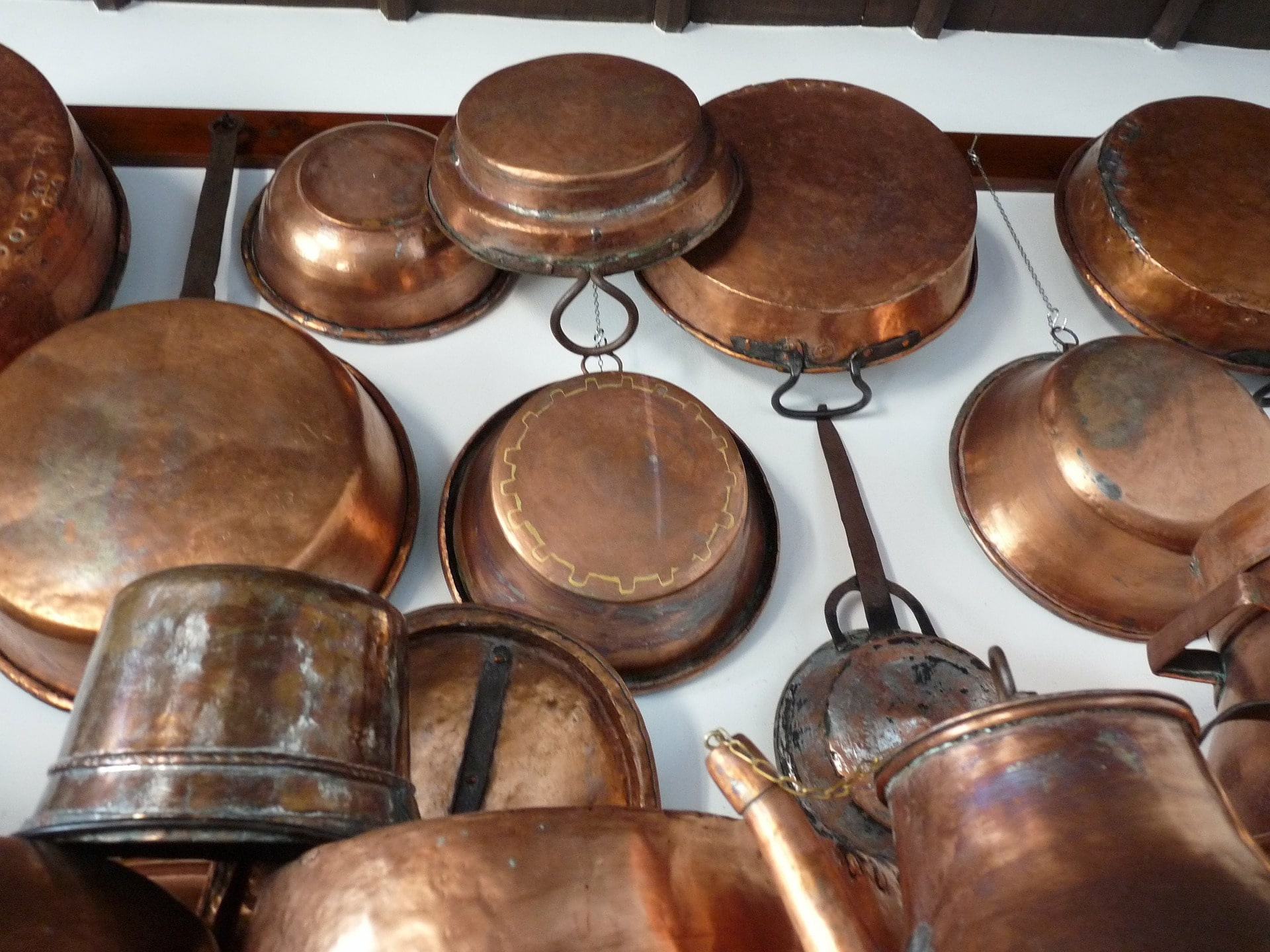 copper cookware vs stainless steel, copper cooking ware