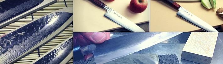 yoshihiro cutlery, yoshihiro chef knife, yoshihiro vg10 review
