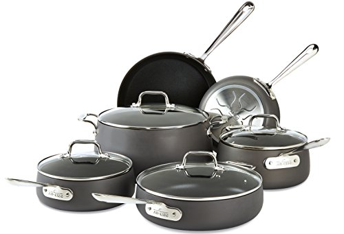 Set 2: All Clad Hard Anodized Cookware Review