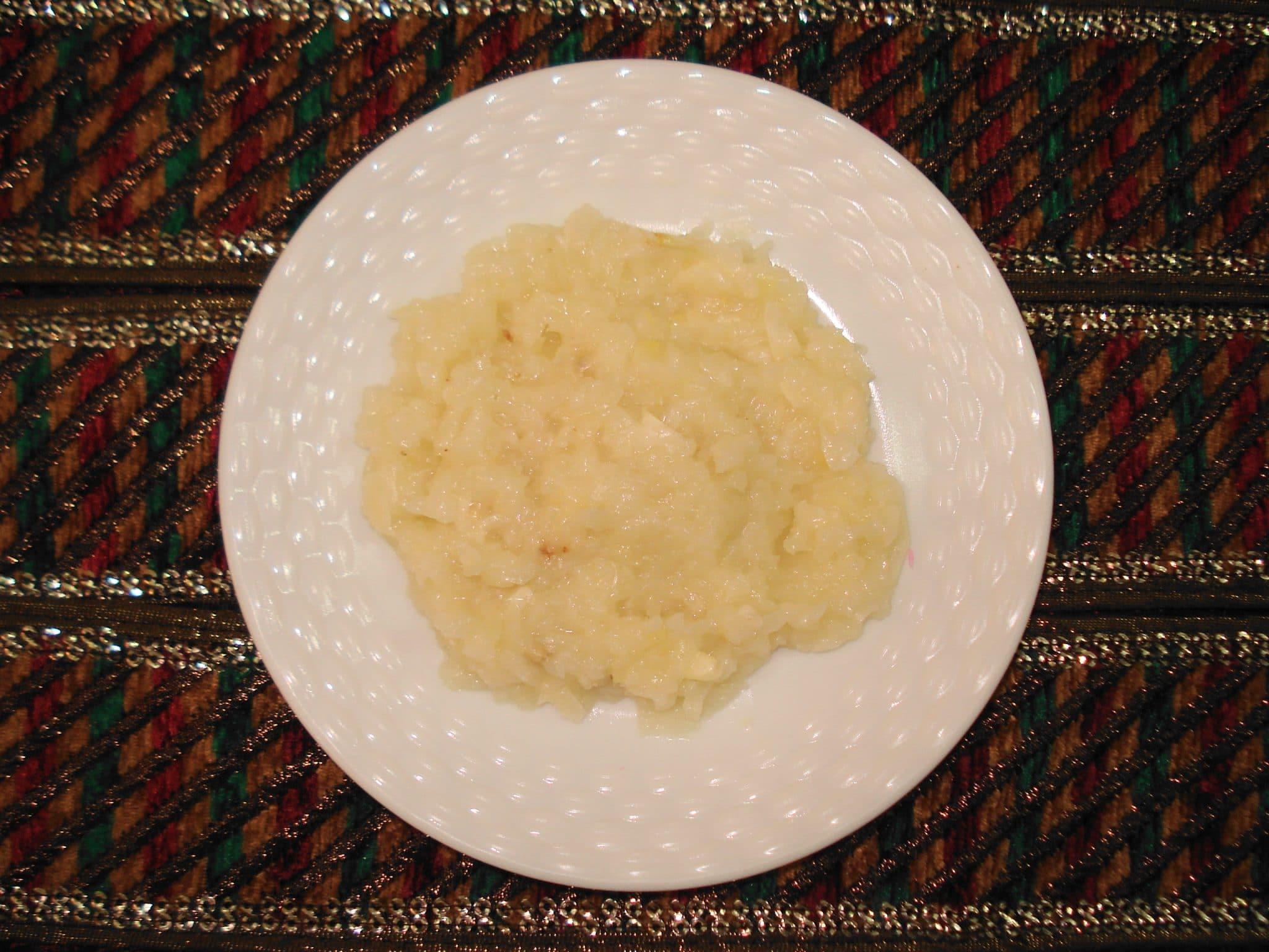 garlic ginger paste, how to make garlic ginger paste