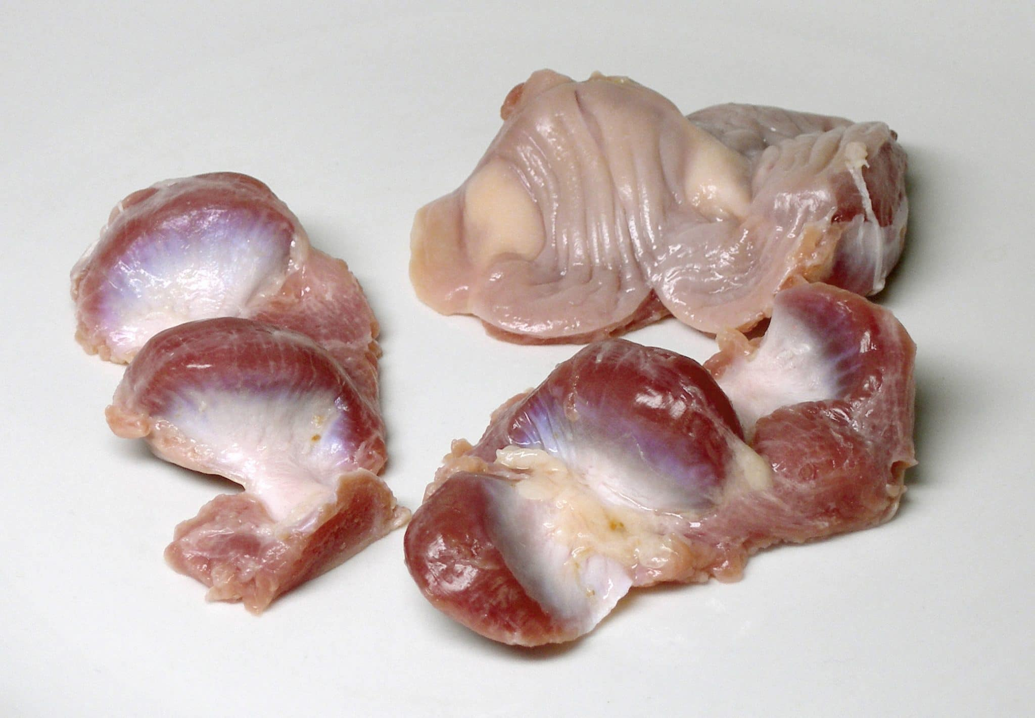 poultry stomach, cooking chitlins