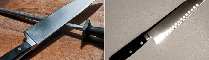 santoku vs chef knife, what is a santoku used for, what is a chef's knife