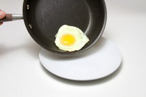 handmade skillet, easy to clean cookware