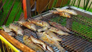 bbq sea bass, sea bass grill
