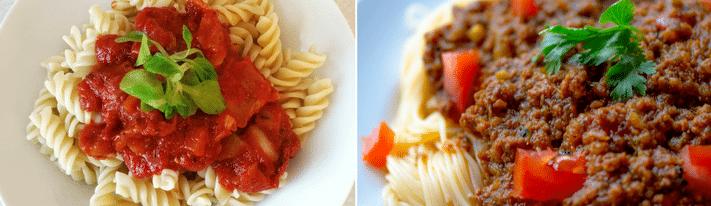 marinara sauce, spaghetti sauce, marinara vs spaghetti sauce
