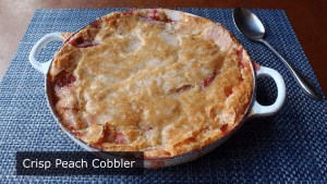 peach cobbler, peach cobbler how to make