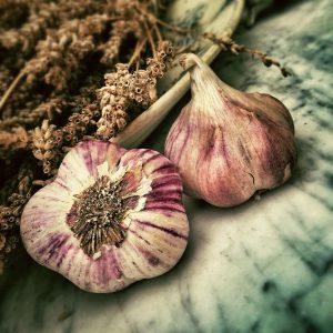 garlic ingredient, garlic pate