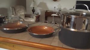 non stick set, cheap cookware set
