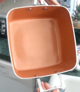 square pot, square pan