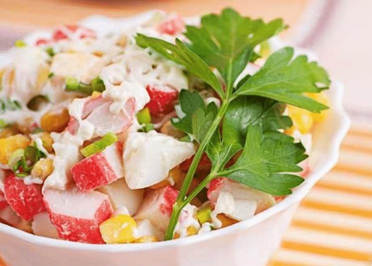 seafood salad, seafood salad recipe
