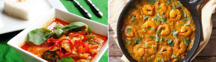 red curry, panang curry vs red curry, panang