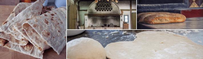sangak bread, how to make iranian bread, iranian bread recipe