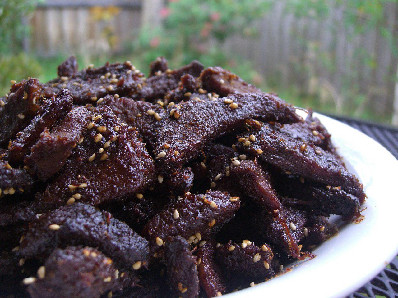 dried salted meat, salted meat recipe