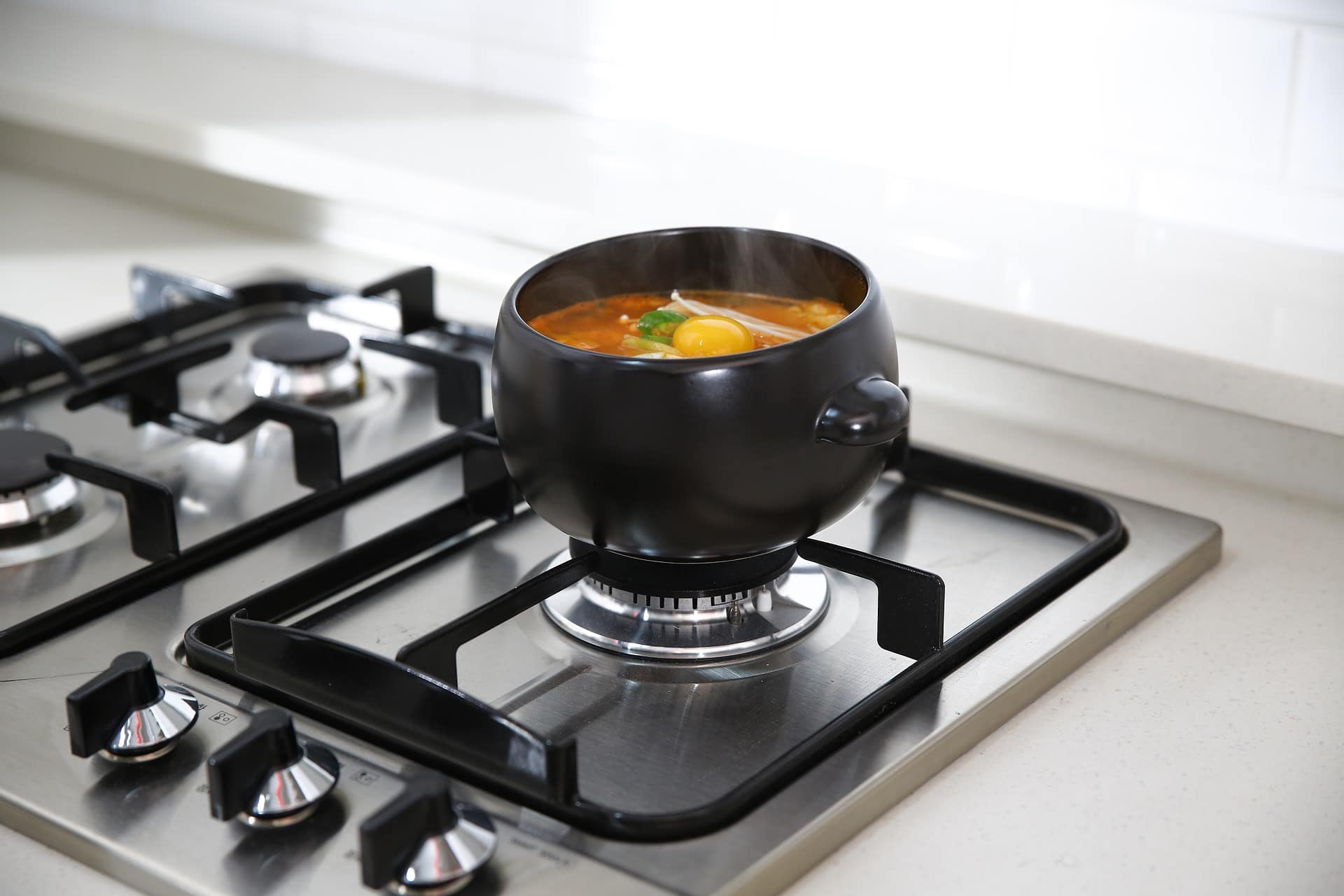 gas stove pot, large soup pot